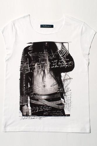 NO RESPECT x USUI TAKURO コラボレーションTシャツ