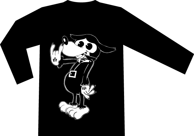 NO RESPECT x ZOMBIE420 MAD WOLF LongSleeveT-sh