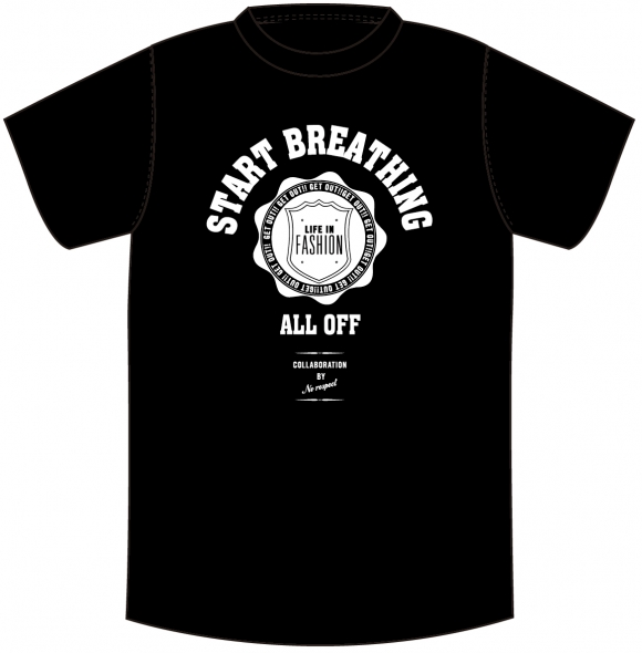 ALL OFF カレッジTシャツ http://alloff.jp