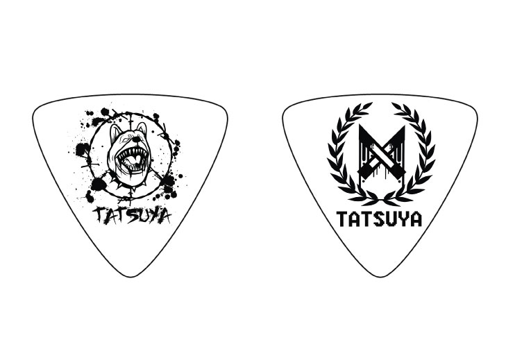 THE RYDERS TATSUYA GUITAR PICK http://ja.wikipedia.org/wiki/THE_RYDERS