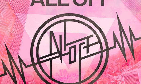 ALL OFF New Album 「ALL OFF」ジャケットデザイン
